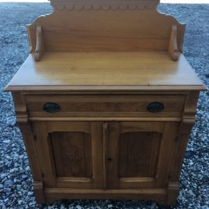 Local Pick Up Only Antique Oak Washstand [tag]