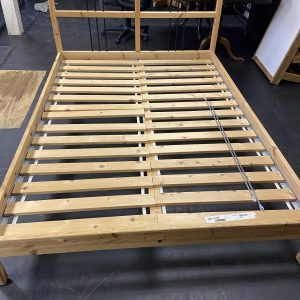 Local Pick Up Only Unique Wooden Full Size Bed double bed