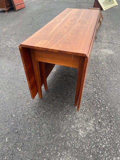 Local Pick Up Only Early Drop Leaf Table antique dropleaf table