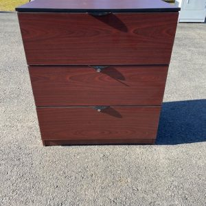BUSINESS COMMERCIAL EQUIPMENT 3 Drawer Lateral Filing Cabinet filing cabinet