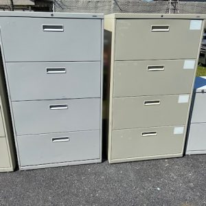 BUSINESS COMMERCIAL EQUIPMENT 30 x 19 x 54 4 Drawer Lateral Filing Cabinet by Hon filing cabinet
