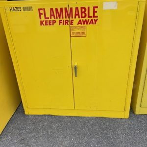 BUSINESS COMMERCIAL EQUIPMENT Se-Cur-All Mod P140 Flammable Storage Cabinet flammable storage cabinet