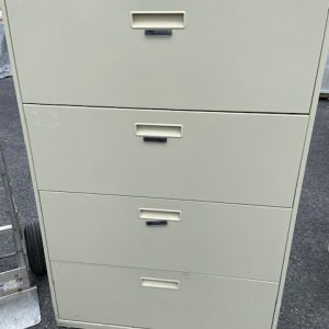 BUSINESS COMMERCIAL EQUIPMENT Hon 4 Drawer Lateral Filing Cabinet filing cabinet