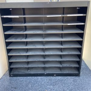 BUSINESS COMMERCIAL EQUIPMENT Mail Organizer Cabinet 36 Compartment mail organizer