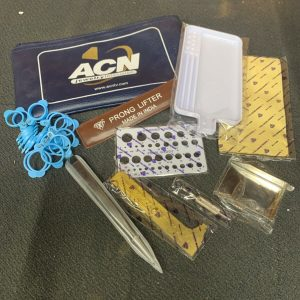 ARTS & CRAFTS ACN Jewelry Television Case Full Of Jewelry Making Accessories