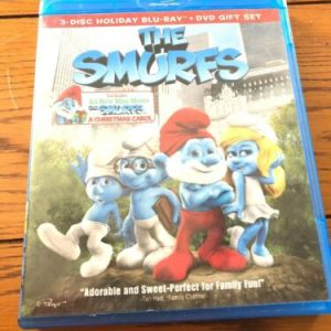 BLU - RAY The Smurfs 3-Disc Holiday Blu-Ray & DVD [tag]