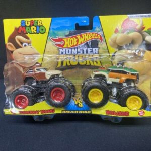 Hot Wheels [New]Hot Wheels Monster Trucks(Demolition Doubles) Bowser vs. Donkey Kong!!