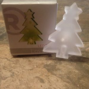 LIghts RADIOSHACK LED Color-Changing Christmas Tree  *NEW* USB powered w/Suction Cup [tag]