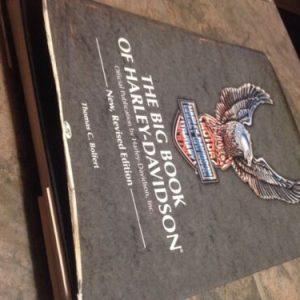 HARLEY DAVIDSON The Big Book of Harley Davidson  by Tom Bolfert (1991, Hardcover, Revised) [tag]