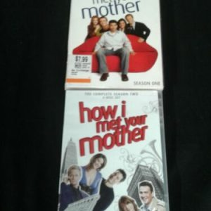 DVD How I Met Your Mother: DVD Seasons 1 & 2 [tag]