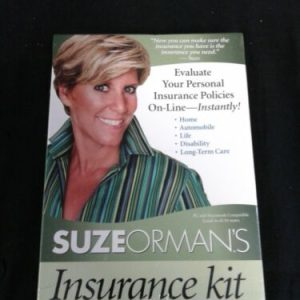 Other Suze Ormans Insurance Kit Evaluate Your Personal Insurance Policies On-Line NEW [tag]