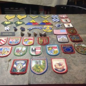 Pins & Patches Vintage WW II Pins Patches Coat Of Arms Germany Patches – Lot [tag]