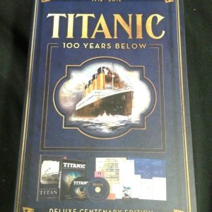 DVD Titanic 100 Years Below Deluxe Centenary Edition  Mint condition [tag]