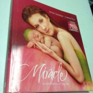 BOOKS Miracle: A Celebration of New Life,Anne Geddes/Celine Dion Book/CD/DVD