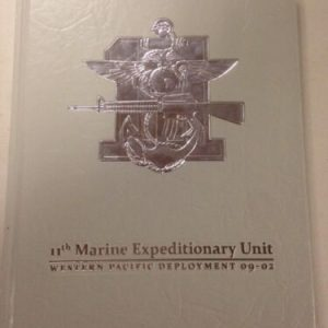 BOOKS USMC 11th MARINE EXPEDITIONARY UNIT WESTPAC 09-02 MEU UNIT HISTORY CRUISE BOOK