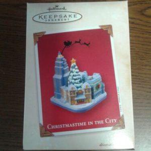 Hallmark Hallmark KEEPSAKE CHRISTMAS Ornament CHRISTMASTIME IN THE CITY 2003