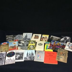 Memorabilia 1960's Vintage Tourist Brochures from Germany, Lot of 20, including road map [tag]