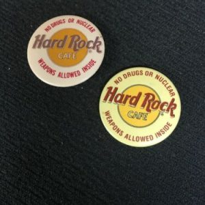Pins Hard Rock Cafe No Drugs or Nuclear Weapons Allowed Inside Pin