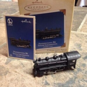 Hallmark Pennsylvania B6 Steam Locomotive – Lionel – Hallmark Keepsake Ornament [tag]