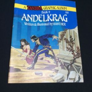 Other Tandra Comic Book Graphic Album Book 9 Andelkrag by Hanther paperback