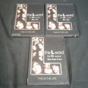 """DVD The L Word ~ The Fifth season-4 DVD set """"This is the Life"""" [tag]"""