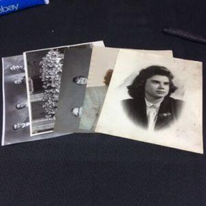 PHOTOGRAPHS Lot of 5 Vintage 8 x 10 Photographs