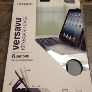 Cell Phone/ Ipad Accessories Targus Versavu Keyboard Case for iPad Air- Black (THZ192US)