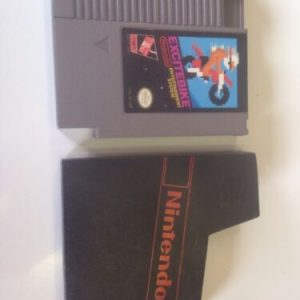 NES EXCITEBIKE NES SYSTEM W/DUST SLEEVE HQ VERY GOOD LABELS [tag]
