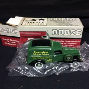 Die Cast Liberty Classics 1936 Dodge Hemmings Motor News Bank Diecast Collectible NOS [tag]
