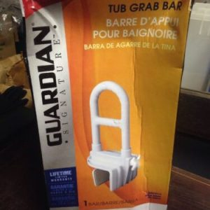 Misc Guardian Signature Tub Grab Bar / safety rail latex free [tag]
