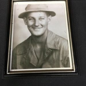 PHOTOGRAPHS Vintage Black and White Photo of a Young Man