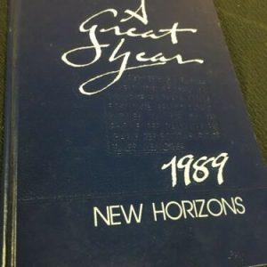 YEARBOOKS Lancaster Christian School New Horizons 1989 Lancaster Pa Yearbook [tag]