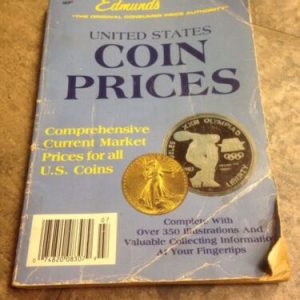 BOOKS Edmund's United States Coin Prices, April-July, 1990 -mass Market Paperback