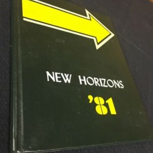 YEARBOOKS Lancaster Christian School New Horizons 1981 Lancaster Pa Yearbook