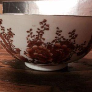 Plates, Bowls & Spoons VINTAGE HAND PAINTED IN HONG KONG DECORATIVE BOWL – CHINESE IMMORTAL