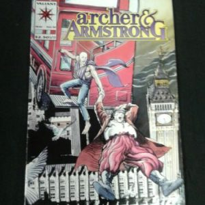 Valient Comics ARCHER AND ARMSTRONG  No 10 MAY 1993 12206 VALIANT COMIC [tag]