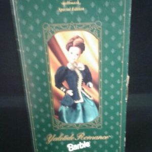 DOLLS Yuletide Romance 1996 Barbie Doll Hallmark Special Edition #15621  NOS