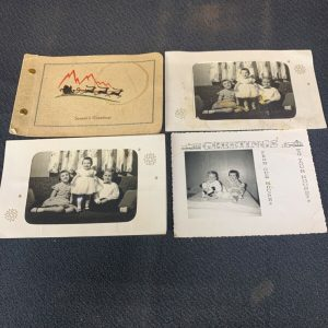 PHOTOGRAPHS Lot of Holiday Picture Cards