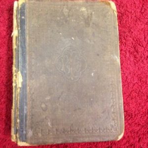 BOOKS Common School Dictionary English Language Webster Wheeler 1867 Illustrated