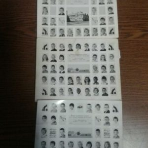 PHOTOGRAPHS Barker Elementary School Class Pictures, Lot of 3-(2) 1967-1968 &1966-1967