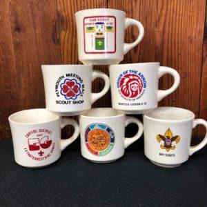 Boy Scouts LOT- Boy Scouts of America Coffee Mug-  Assorted BSA Mugs