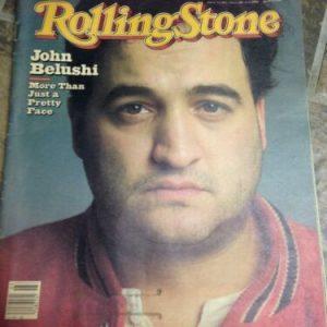 Magazines ROLLING STONE MAGAZINE ISSUE 361 JOHN BELUSHI MICK JAGGER JANUARY 21 1982 RARE!!