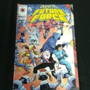 Valient Comics Rai And The Future Force 9  – Valiant Comics [tag]