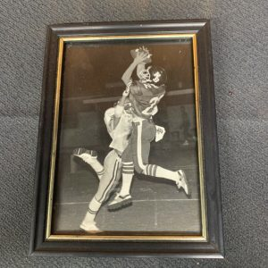 PHOTOGRAPHS Small Framed Football Picture