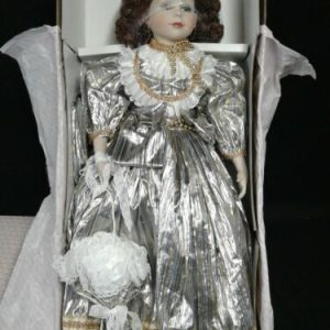 """DOLLS Camelot Musical 24"""" Hand Painted Porcelain Doll"""
