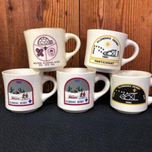 Boy Scouts LOT- Boy Scouts of America Coffee Mug-  Klondike Derby Mugs '79 '80 '81 '83