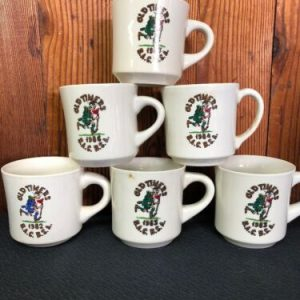 Boy Scouts LOT- Boy Scouts of America Coffee Mug-  Old Timers '82 '83 '84 '86 '87