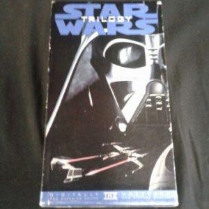 VHS Star Wars Trilogy Box Set Digitally Mastered THX VHS Casstte Tapes [tag]