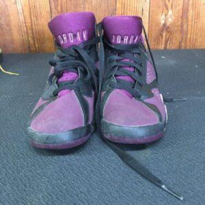 MENS SHOES Air Jordan Retro 7 Purple 5Y