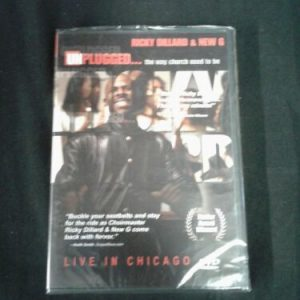 DVD Unplugged: The Way Church Used to Be by Ricky Dillard/Ricky Dillard DVD LIVE NEW [tag]